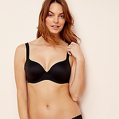 Triumph - Black underwired non-padded t-shirt bra