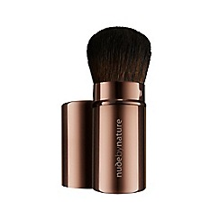 Nude by Nature - '10' retractable travel brush