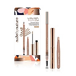 Nude by Nature - 'Vivid - No. 01 Blonde' 3 Piece Brow Collection