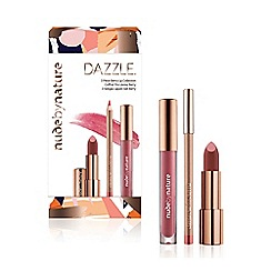 Nude by Nature - 'Dazzle' 3 Piece Berry Lip Collection
