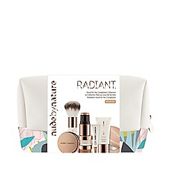 Nude by Nature - 'Radiant - W4 Soft Sand' Good For You Complexion Makeup Set