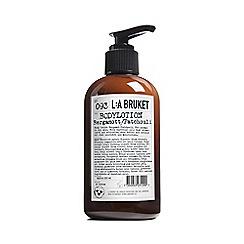 L:a Bruket - 'Bergamot and Patchouli' Body Lotion 250ml