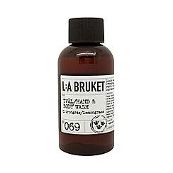L:a Bruket - 'Lemongrass' Hand & Body Wash 60ml