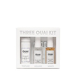 OUAI - 'Three OUAI' Travel Size Hair Care Set