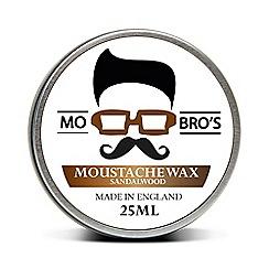 Mo Bro's - Sandalwood Travel Size Moustache Wax 25ml