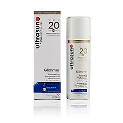 Ultrasun - 'Glimmer' SPF 20 Shimmering Sun Protection Gel 150ml
