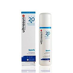 Ultrasun - 'Sports' SPF 20 Transparent Sun Protection Gel 200ml