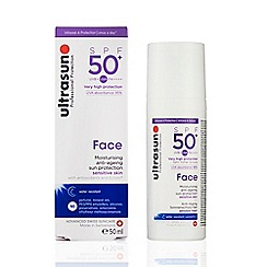 Ultrasun - 'Face' SPF 50 Anti Ageing Sun Protection Gel 50ml