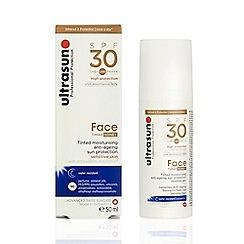Ultrasun - 'Face' SPF 30 Tinted Anti Ageing Sun Protection Gel 50ml