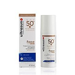 Ultrasun - Tinted Moisturising Anti-Ageing SPF 50 Sun Protection Face Gel 50ml