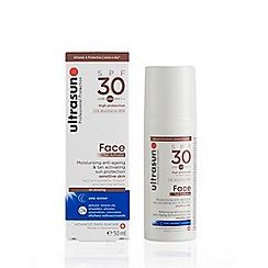 Ultrasun - 'Face Tan Activator' SPF 30 Sun Protection Gel 50ml