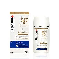 Ultrasun - 'Tinted' SPF 50 Sun Protection Face Fluid 40ml