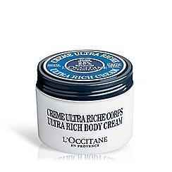 L'Occitane en Provence - 'Shea Butter' ultra rich body cream 200ml