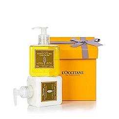 L'Occitane en Provence - 'Verbena' hand wash and lotion duo