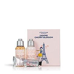 L'Occitane en Provence - 'J'Adore' Cherry Blossom Bodycare Set