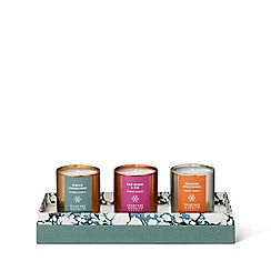 Crabtree & Evelyn - Mini candle trilogy set