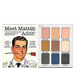 theBalm - 'Meet Matte Ador®' eyeshadow palette