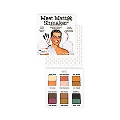 theBalm - 'Meet Matt(e) Shmaker' eye shadow palette 10g