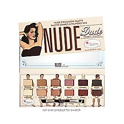 theBalm - 'Nude Tude' nude eye shadow palette 8.8g