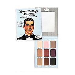 theBalm - 'Meet Matt Trimony' palette 21.6g