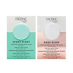 Nails Inc. - 'Rose Glow and Night Night Pod' mask duo 10ml