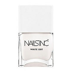 Nails Inc. - 'White Out' nail polish 14ml