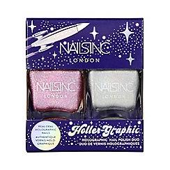 Nails Inc. - 'Holler-Graphic' nail polish duo