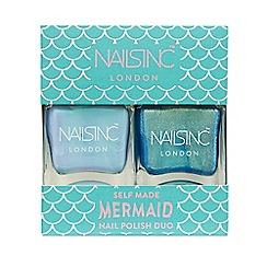 Nails Inc. - 'Self Made Mermaid' nail polish duo