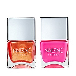 Nails Inc. - 'Flock You' nail polish duo