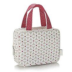 Victoria Green - Starflower sage print compact weekend bag
