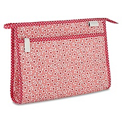 Victoria Green - 'Celia Pink' wash bag