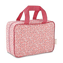 Victoria Green - 'Celia Pink' hanging traveller wash bag