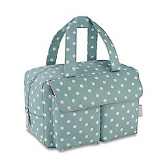 Victoria Green - 'Southwold Duck Egg' carry all wash bag