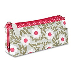 Victoria Green - 'Sophie Sage' folding make up bag