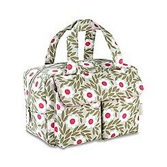 Victoria Green - 'Sophie Sage' carry all wash bag
