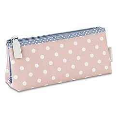 Victoria Green - 'Southwold Blush' folding make-up bag