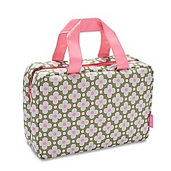 Victoria Green - 'Birling Sage' folding traveller wash bag
