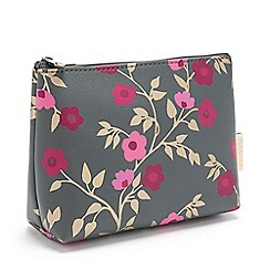 Victoria Green - 'Blossom Charcoal' Small Makeup Bag