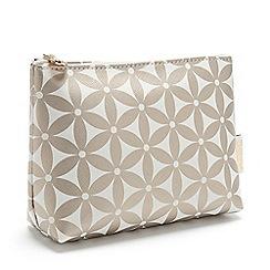 Victoria Green - 'Starflower Gold' Small Makeup Bag