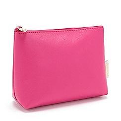 Victoria Green - 'Magenta' Small Makeup Bag