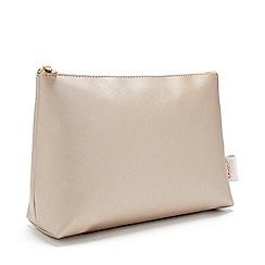 Victoria Green - Gold Large Makeup Bag