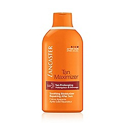 Lancaster - 'Tan Maximiser' after sun soothing face and body moisturiser 400ml