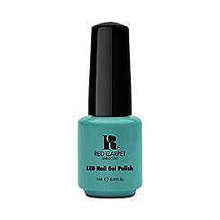 Red Carpet Manicure - Light teal green LED gel nail polish 9ml