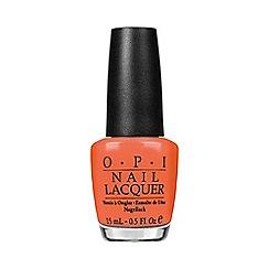 OPI - Hot and spicy nail polish 15ml