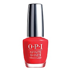OPI - 'Infinite Shine- Unrepentantly Red' nail polish 15ml