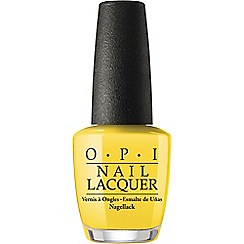 OPI - Fiji collection nail lacquer - Exotic birds do not tweet 15ml