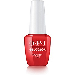 OPI - 'My Wish List Is You' gel lacquer 15ml