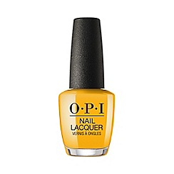OPI - 'Lisbon - Sun, Sea, and Sand in My Pants' nail polish 15ml