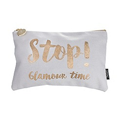 Nails Inc. - 'Stop! Glamour time' cosmetic bag