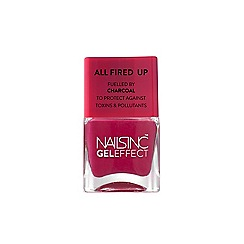 Nails Inc. - Nobel Street fuelled by Charcoal' nail polish 14ml